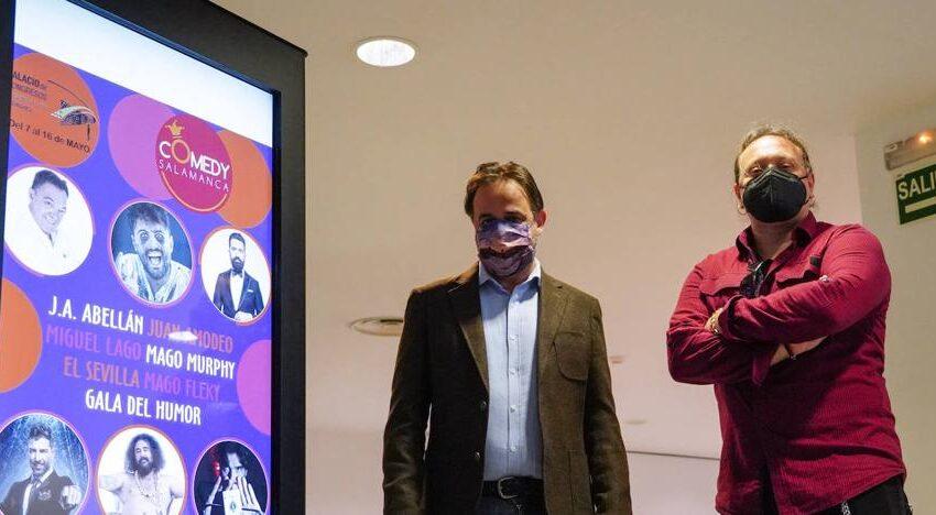 Comedy Salamanca, ocho espectáculos de humor, música y magia en 'El Palacio'