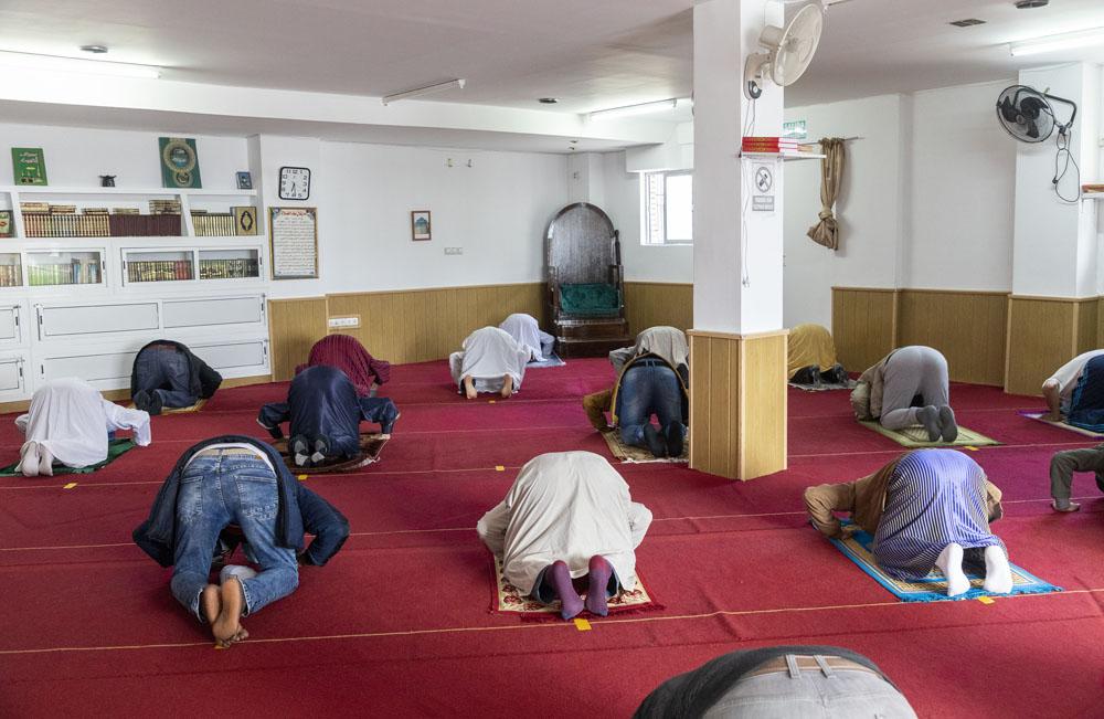 Susana Martín/ICAL. Oración en la mezquita de Salamanca.