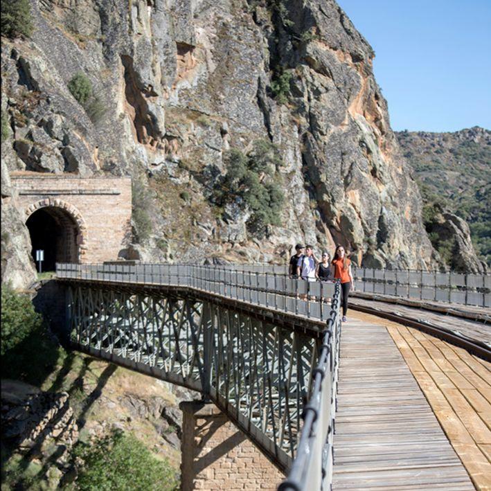 Puente de la ruta Camino de Hierro.