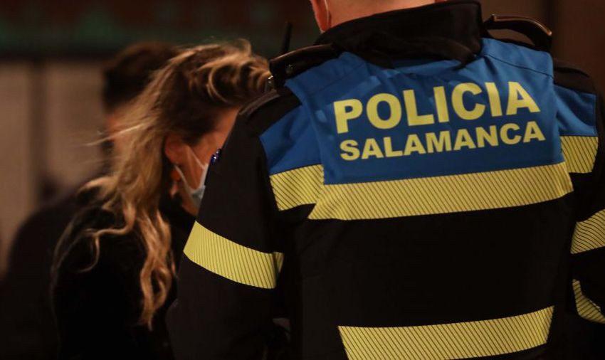 Más de 100 denuncias este sábado noche en Salamanca: la mitad, por incumplir el toque de queda