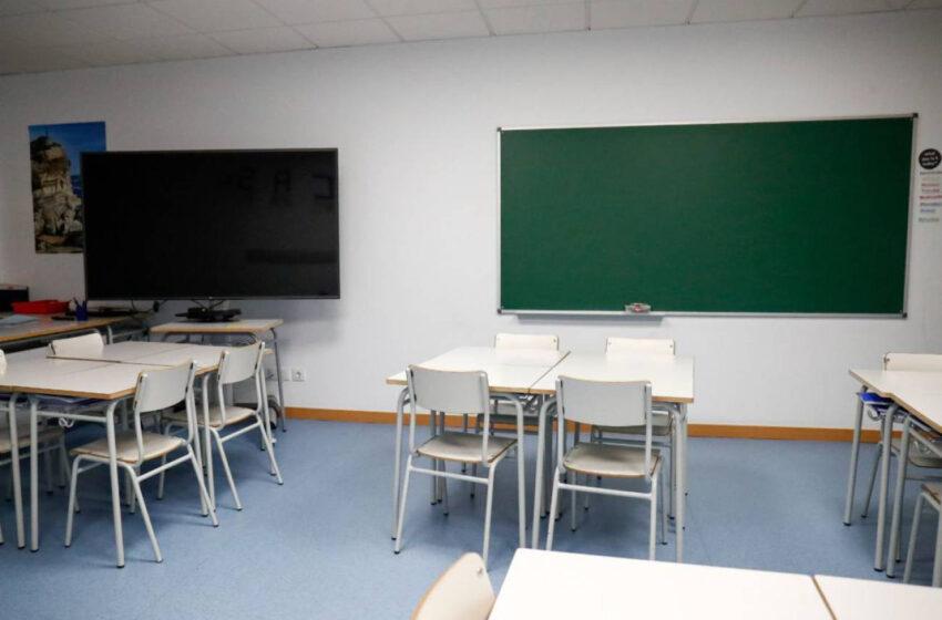 Dos aulas del CEIP Francisco de Vitoria y del CEE Reina Sofía, en cuarentena por coronavirus