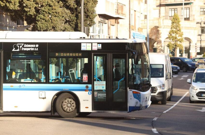 El uso del autobús urbano en Castilla y León cae un casi un 50% en febrero sobre el mismo mes de 2020