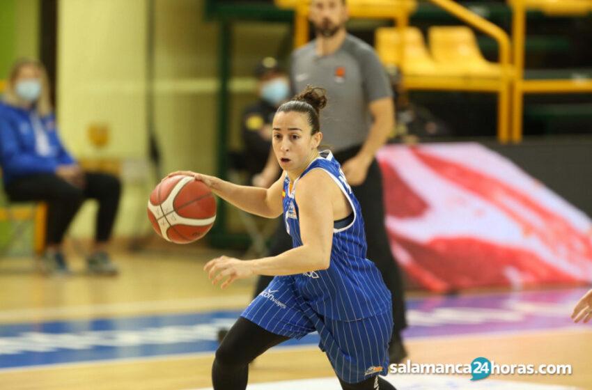 """Silvia Domínguez antes de la Final Four: """"Nos hemos ganado el derecho a que se nos tenga en cuenta"""""""
