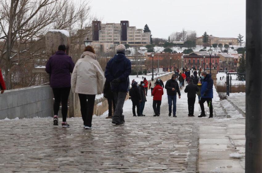 Nueva semana de tiempo primaveral que podría terminar con nieve en Salamanca