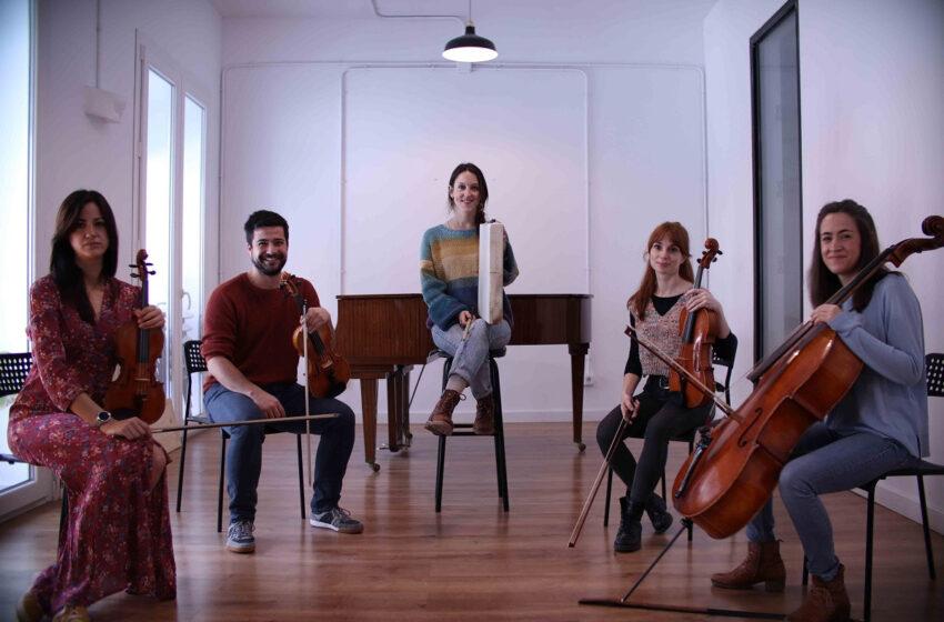 El grupo Concuerda Quinteto ofrece un concierto este sábado en la Sala B del CAEM