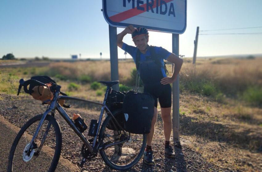 TVE emite este domingo la serie documental del exciclista profesional, Peio Ruiz Cabestany, grabada en territorio salmantino