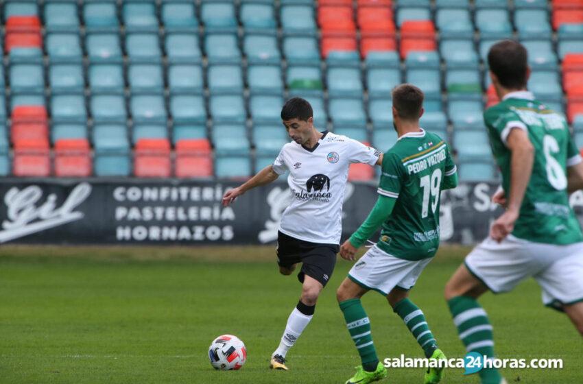Nacho López, positivo por COVID en el Salamanca CF UDS