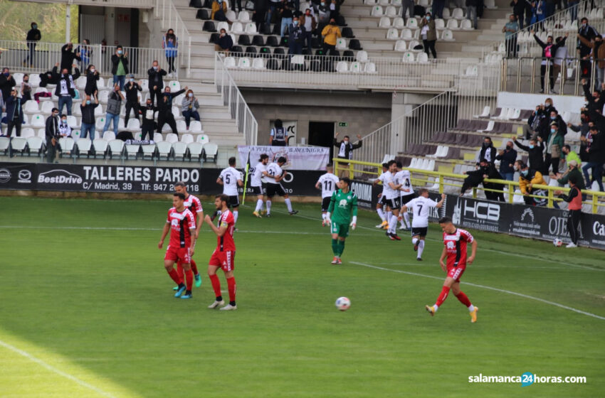 Un Burgos 'de otra categoría' supera a un combativo Unionistas (2-0)