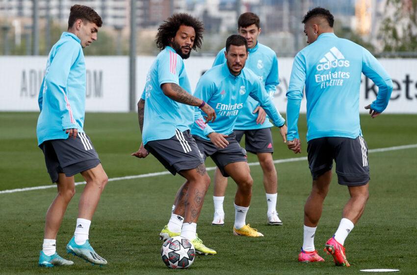 El salmantino David Mellado se entrena con el primer equipo del Real Madrid