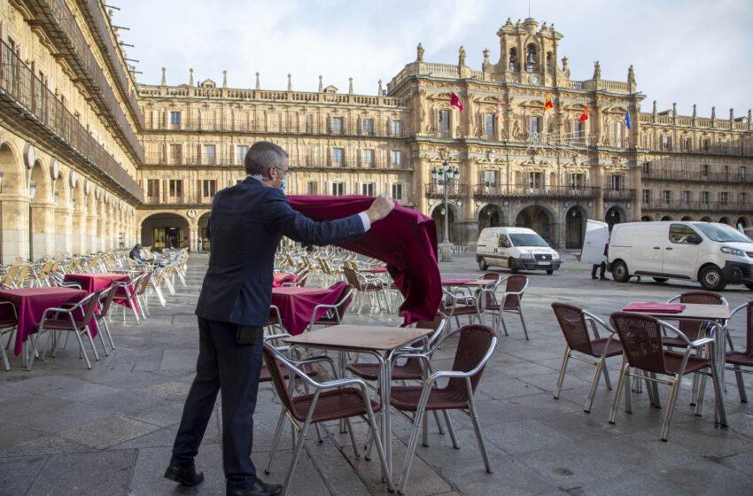 Oficial: Salamanca capital, Béjar y Villares de la Reina también deberán cerrar el interior de la hostelería y las casas de apuestas