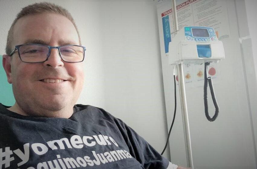 VÍDEO | Juanma Díaz y el #YoMeCuro: El día a día de un paciente de mieloma múltiple a caballo entre Sevilla y el Hospital de Salamanca