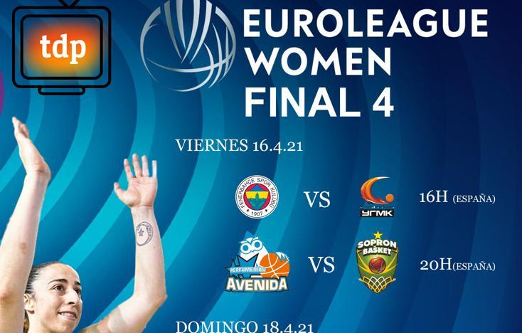 Avenida se estrenará ante Sopron en la Final Four el día 16 a las 20 horas con las cámaras de Teledeporte en directo