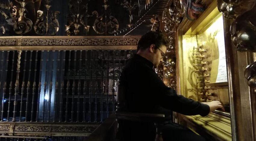 El organista salmantino Jorge García Martín rinde homenaje al compositor Félix Máximo López en el Palacio Real