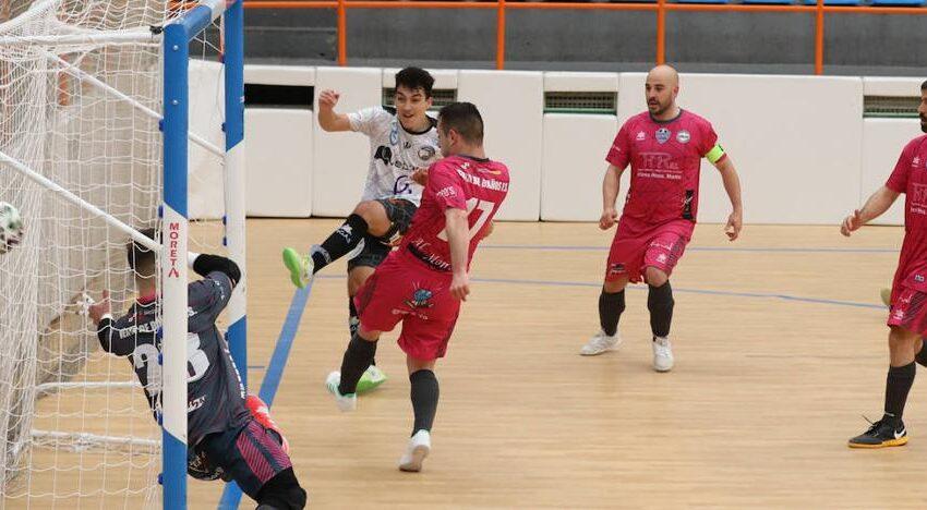 Un tanto de Pablo Peix a 43 segundos del final da una importante victoria al FS Salamanca Unionistas (2-1)