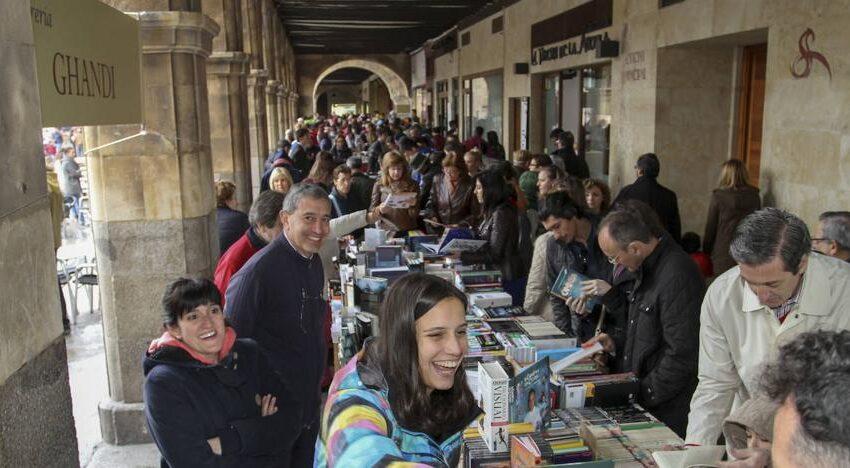 Salamanca celebrará un Día del Libro especial sin libreros en la Plaza Mayor