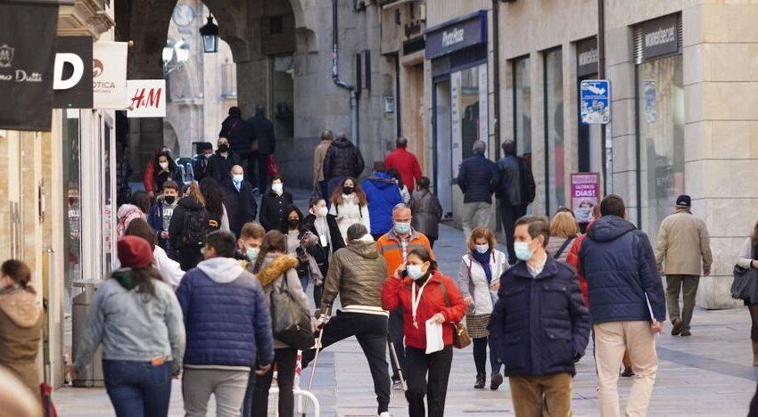 Salamanca repite el número de contagios de ayer con 28, pero casi quintuplica los de hace siete días