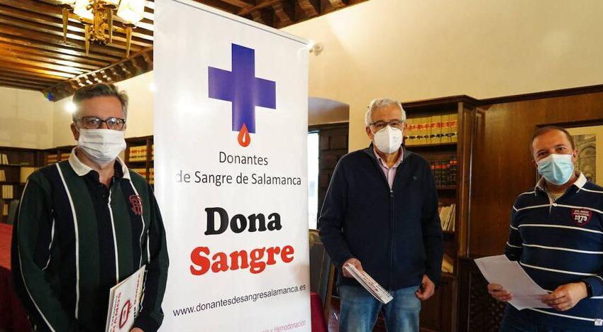 Fernando Barbero, nuevo presidente de la Junta Directiva de la Hermandad de Donantes de Sangre de Salamanca
