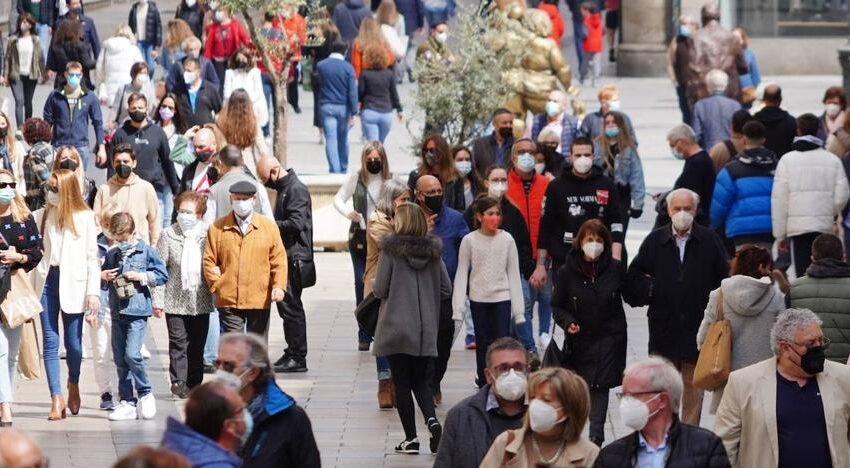El descenso de casos en Salamanca este domingo no evita un nuevo incremento de la incidencia de la covid a 14 días