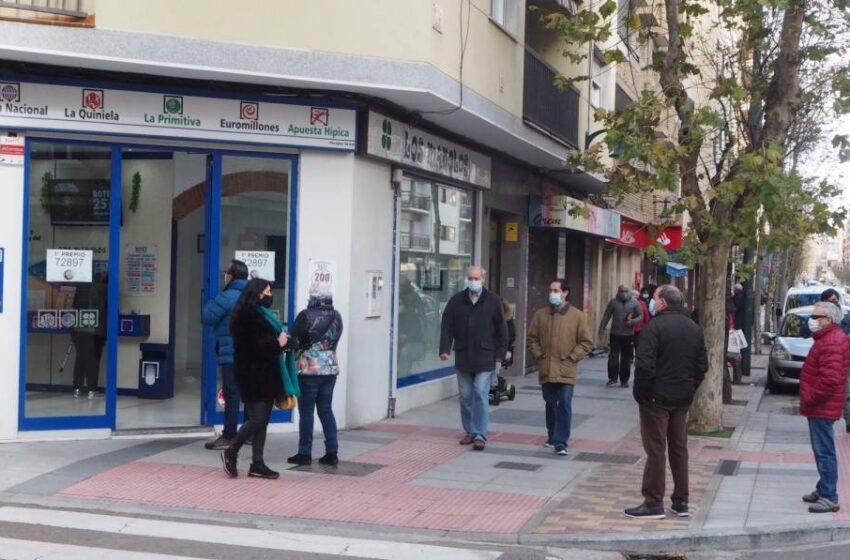 El primer y tercer premio de la Lotería Nacional dejan al menos 165.000 euros en Salamanca