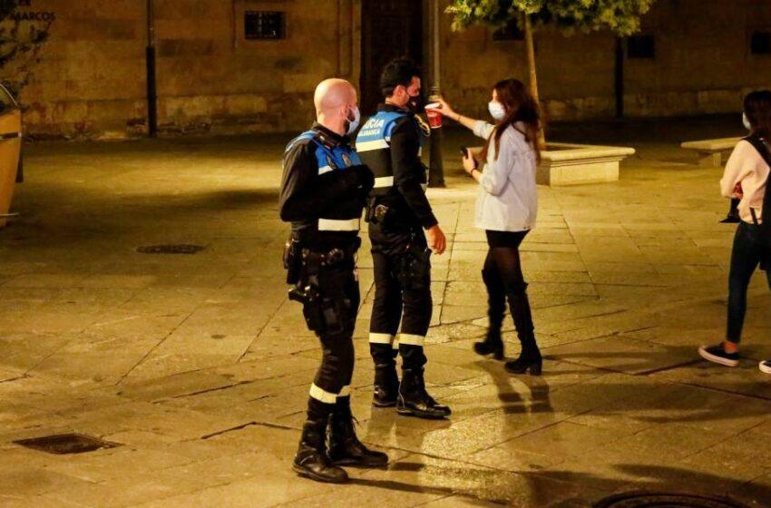 Sigue el descontrol en Salamanca: Más de 70 denuncias en una noche por incumplir las normas anticovid