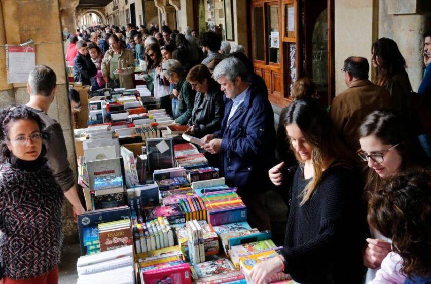 Así será el primer Día del Libro de la 'era covid' en Salamanca