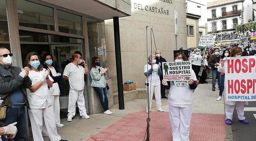 La Plataforma en Defensa de la Sanidad de Béjar traslada sus reivindicaciones a la capital salmantina