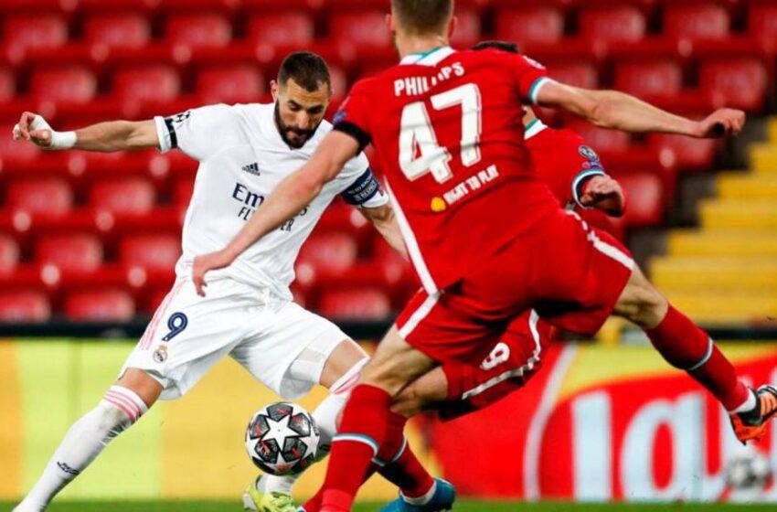 El Real Madrid empata en Anfield y se mete en las semifinales de la 'Champions' (0-0)