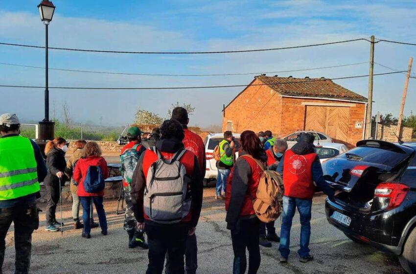 Arranca una nueva búsqueda del anciano desaparecido en Zamora con los voluntarios de Salamanca