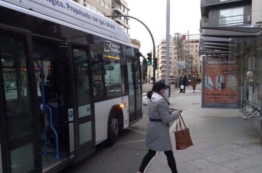Así ha sido la histórica caída de los usuarios del bus en Salamanca