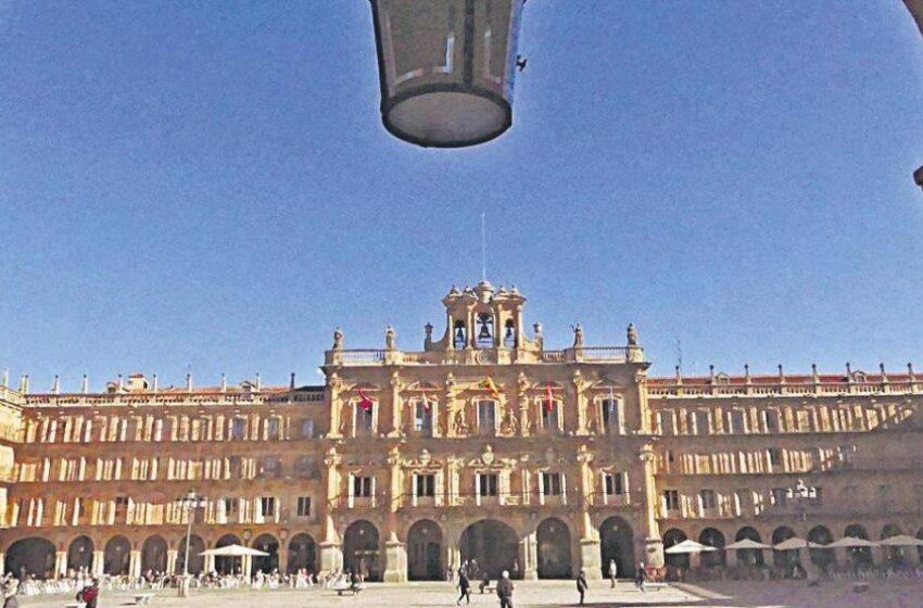 Así fue el diseño de la Plaza Mayor, el monumento más célebre de Salamanca