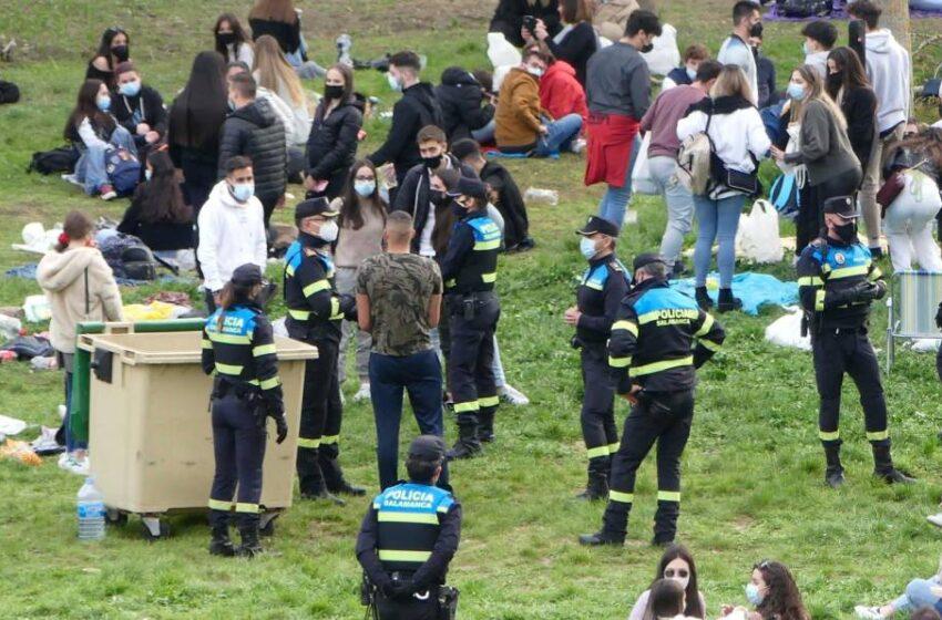 La resaca del Lunes de Aguas: 165 multas por incumplir las normas anticovid