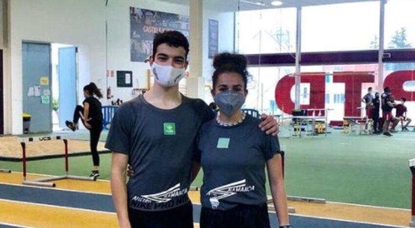 Octavos puestos para los salmantinos Clara Rubio y Ángel Galán en el Nacional sub-18 de 5.000 metros