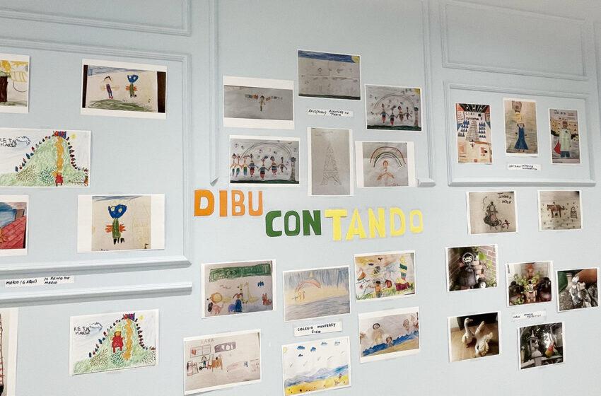 El CC Tormes acoge una exposición de dibujos de un proyecto nacido durante el confinamiento: Dibucontando
