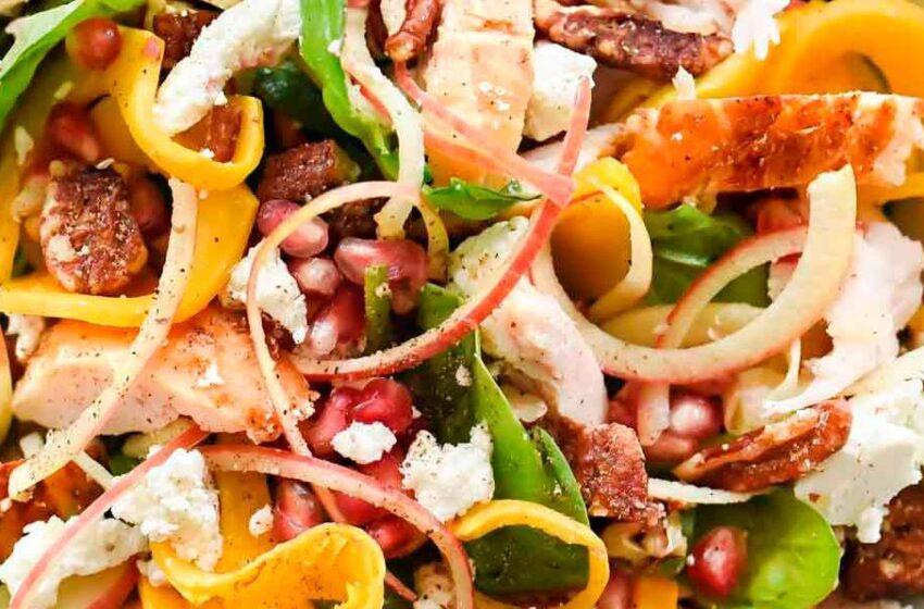 La ensalada más saludable para cenar ligero y perder peso sin esfuerzo