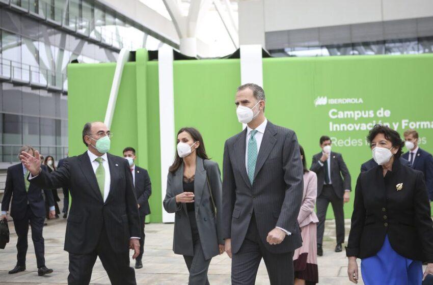 Los Reyes inauguran el Campus de Iberdrola, centro global para el conocimiento, la innovación y la empleabilidad