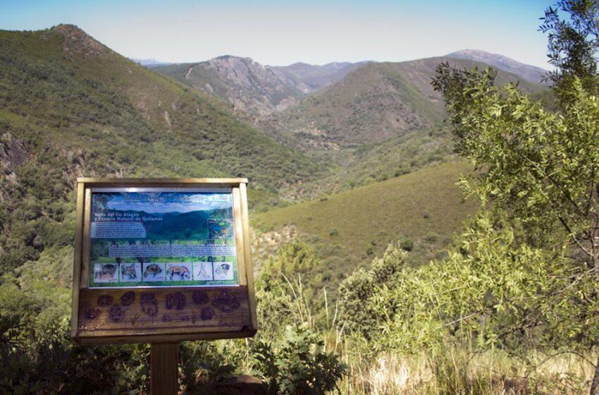 El sendero de los miradores de las sierras, una singular ruta entre los parajes serranos de Salamanca