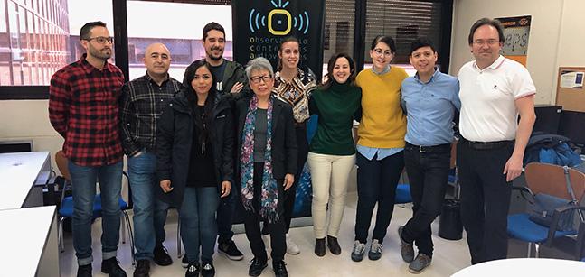 El Observatorio de los Contenidos Audiovisuales de la Universidad de Salamanca recibe el Premio Roblón