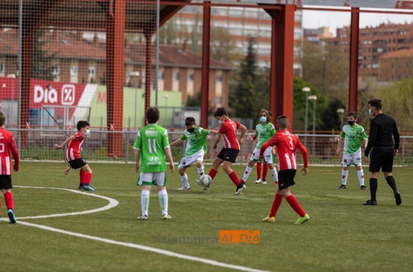 El fútbol base vuelve después de más de un año ausente: sin público, con mascarillas y con mucha ilusión