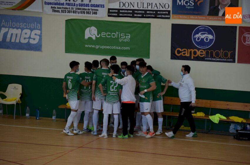 El Piensos Durán Albense se hace con un punto tras empatar a domicilio frente al Ventorrillo FS (4-4)