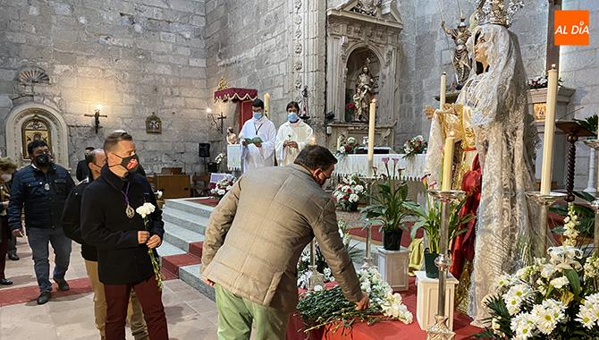 Flores y fe para arropar a la Misericordia en su fiesta anual, adaptada por la situación sanitaria
