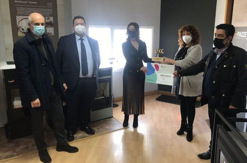 Energy Biomasa recibe el Premio al Mejor Comercio Tradicional de Salamanca