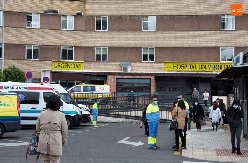 Los hospitalizados por coronavirus vuelven a subir en Salamanca, con la UCI de nuevo en riesgo medio