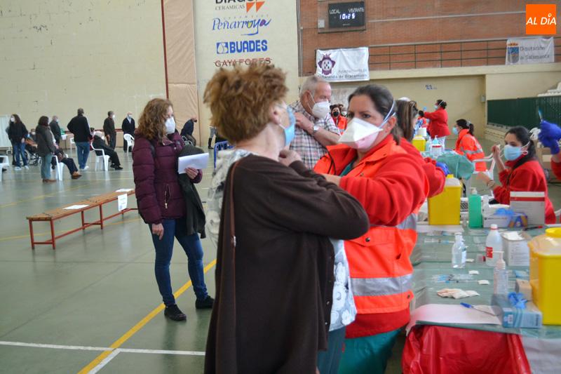 La vacunación masiva continúa en La Alberca, Peñaranda, Fuentes de Oñoro, Tamames y Vitigudino