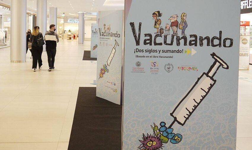 Carbajosa acogerá a partir de este miércoles la exposición 'Vacunando ¡dos siglos y sumando!'
