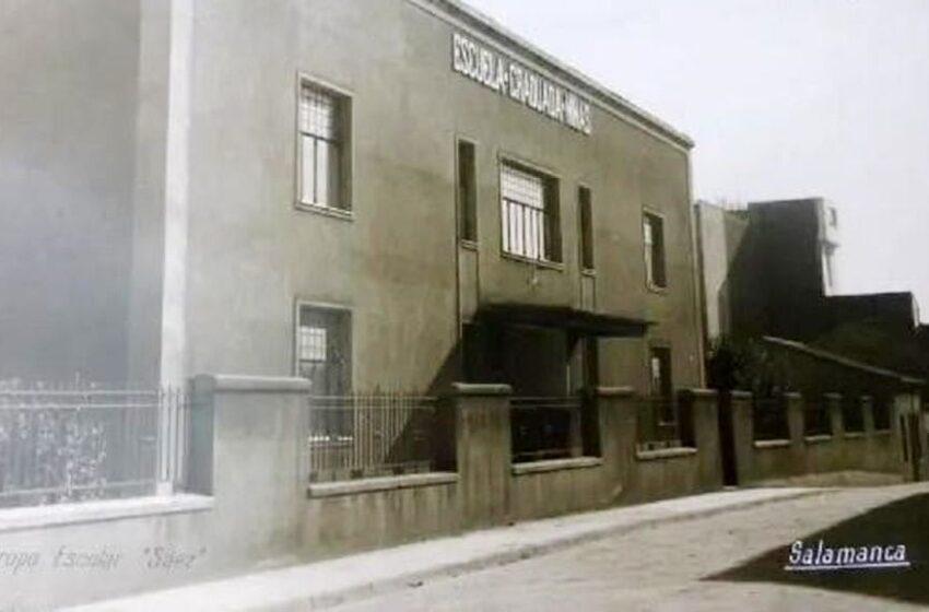 La Escuela Graduada Sáez, en el barrio del Oeste