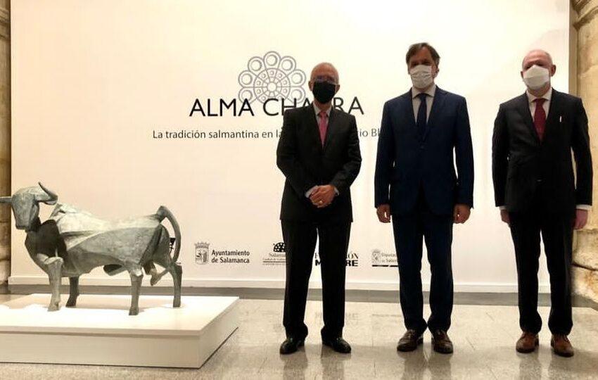 """El """"Alma charra"""" de Venancio Blanco llega a la Sala de Exposiciones de Santo Domingo"""