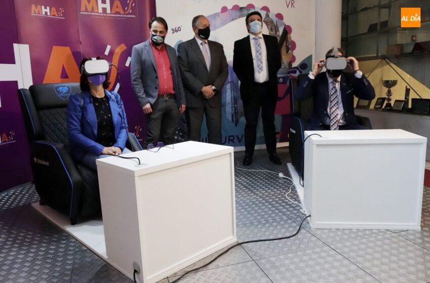 El Museo de Historia de la Automoción refuerza su ofera con una novedosa experiencia de realidad virtual