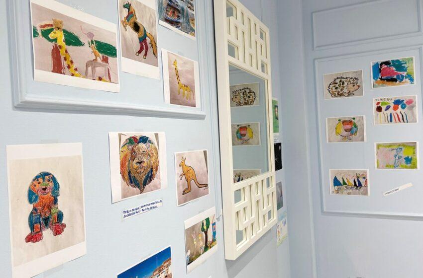 Dibucontando, una exposición nacida en un proyecto nacido durante el confinamiento