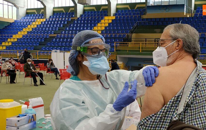 Unas 500 personas han sido vacunadas hoy en Béjar con la vacuna de Pfizer