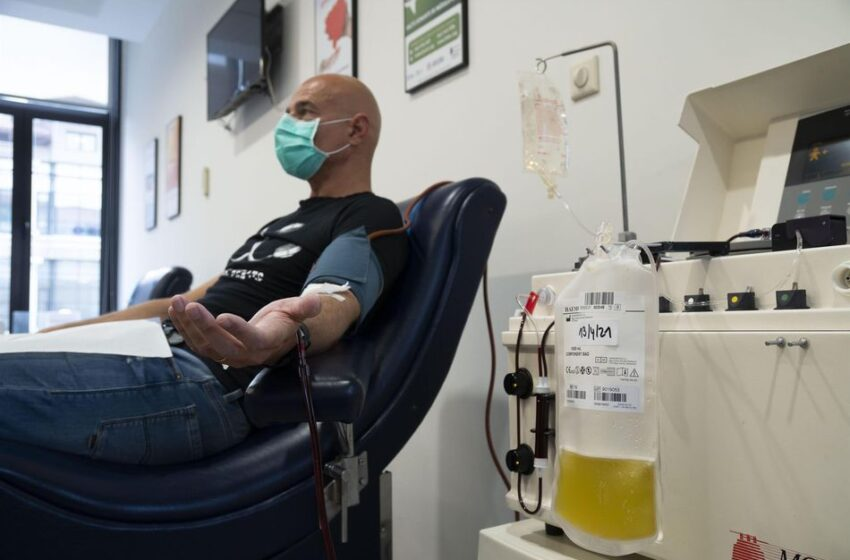 El Hospital Valdecilla busca donantes de plasma que hayan pasado la Covid-19 y hayan sido vacunados